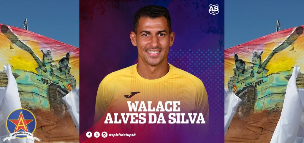 Walace Alves de Silva - fundas central Steaua Bucuresti